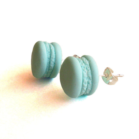 French Macaron Stud Earrings