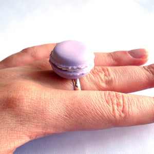 French Macaron Ring - Fatally Feminine Designs