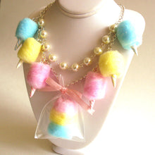 Load image into Gallery viewer, Cotton Candy Carnival Statement Necklace