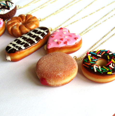 Large Donut Necklace