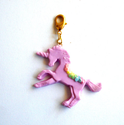 Pastel Unicorn Charm - CHOOSE YOUR COLOR