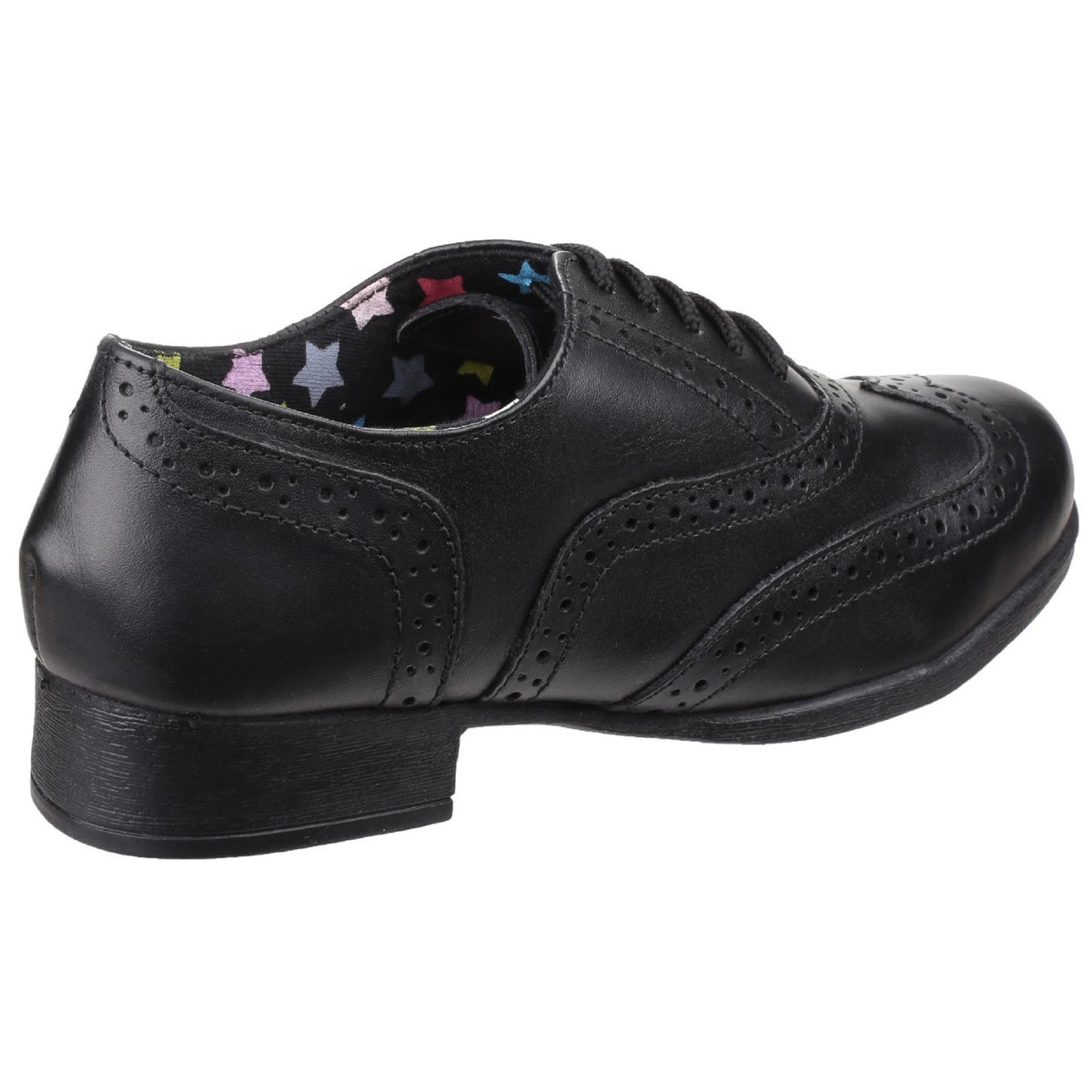 Girls Hush Puppies Black Kada Back To School Shoe-9191