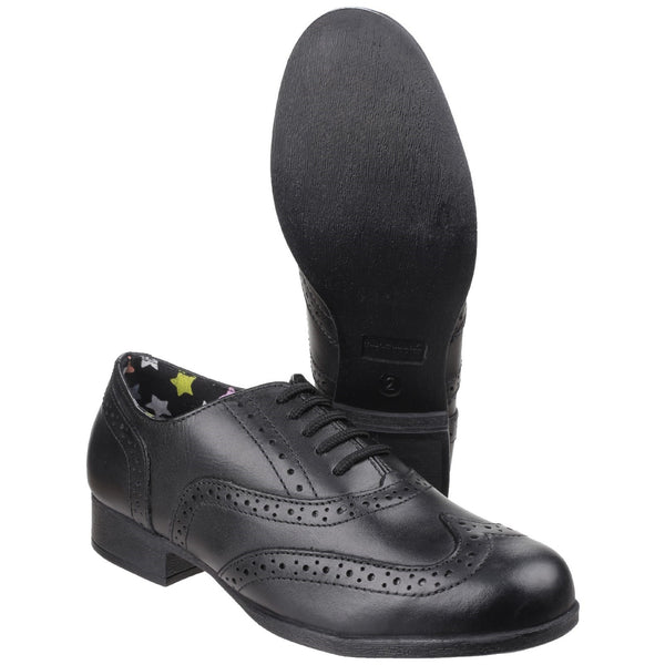 BLACK KADA SENIOR SCHOOL SHOE
