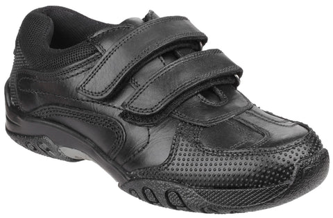 BLACK JEZZA JUNIOR SCHOOL SHOE