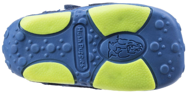 BLUE HARRY TOUCH FASTENING TRAINER