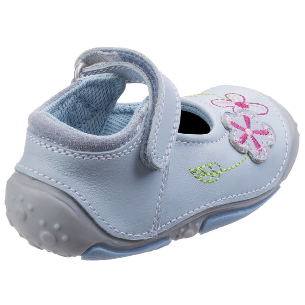 LIGHT BLUE LARA TOUCH FASTENING SHOE