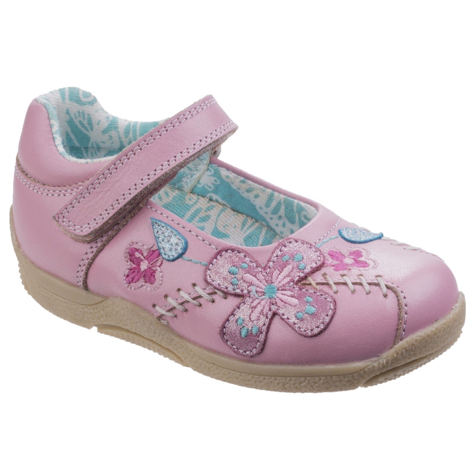 Pink Millie Touch Fastening Shoe