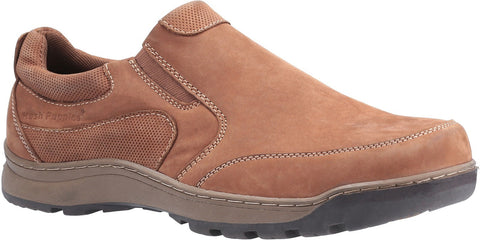 TAN JASPER SLIP ON TRAINER