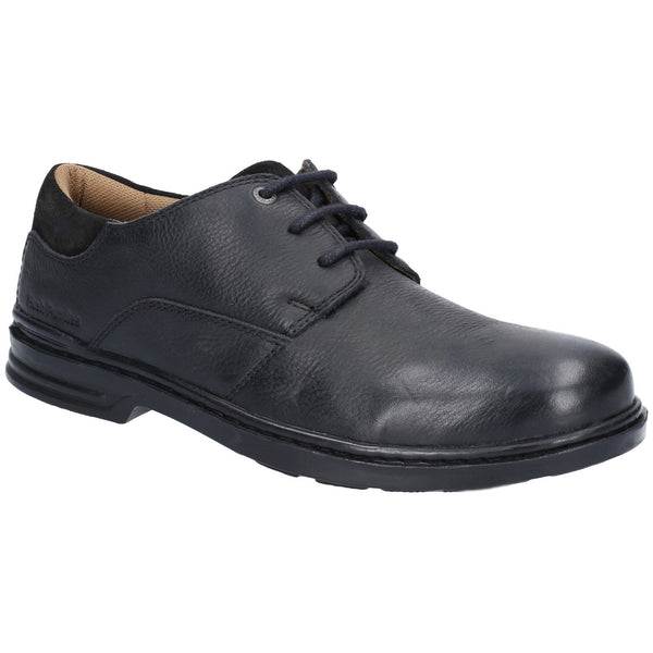 BLACK MAX HANSTON CLASSIC LACE UP DRESS SHOE