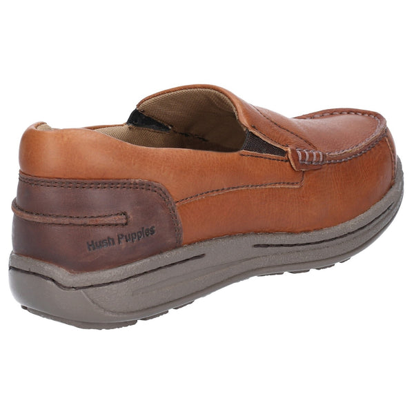 TAN MURPHY VICTORY CAUSAL SLIP ON MOCCASIN SHOE