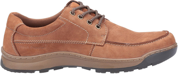 TAN TUCKER LACE SHOE