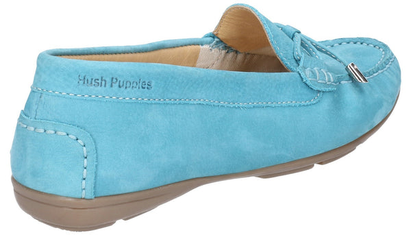 BLUE MAGGIE SLIP ON TOGGLE SHOE