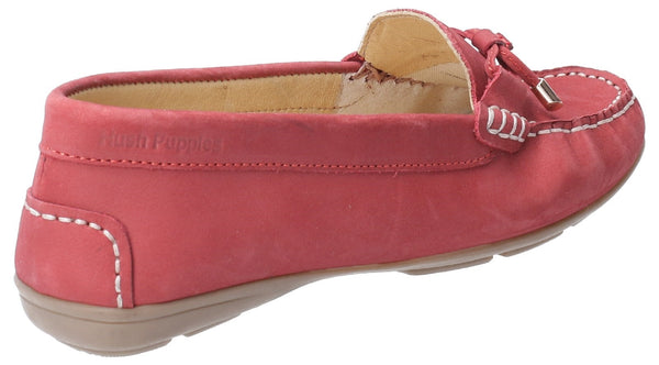 RED MAGGIE SLIP ON TOGGLE SHOE