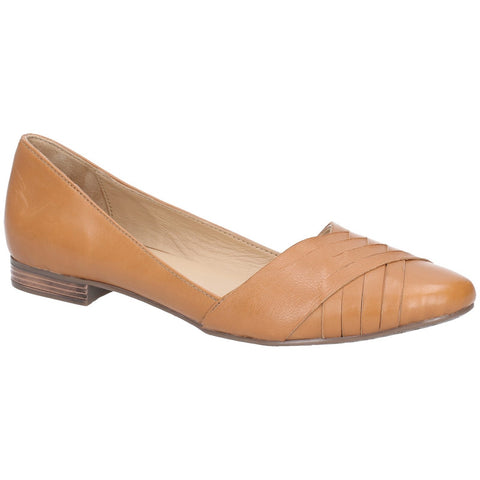 TAN MARLEY BALLERINA SLIP ON SHOE