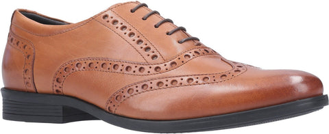 DARK BROWN OAKEN BROGUE LACE UP SHOE