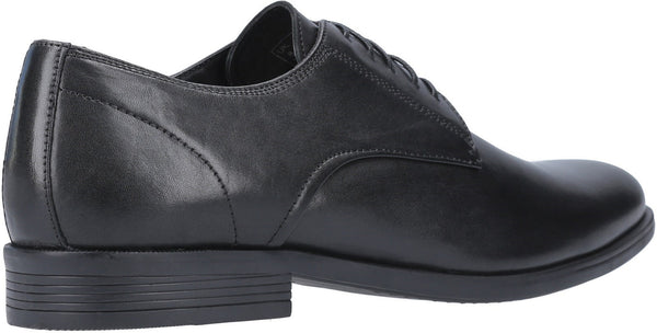 BLACK OSCAR CLEAN TOE LACE UP SHOE