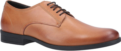 TAN OSCAR CLEAN TOE LACE UP SHOE