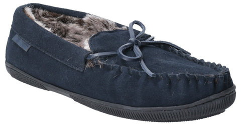 NAVY ACE SLIP ON SLIPPER