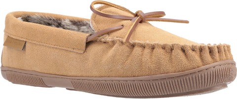 TAN ACE SLIP ON SLIPPER