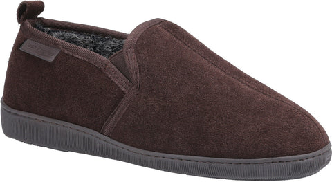 BROWN ARNOLD SLIP ON SLIPPER