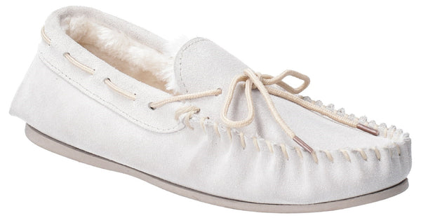 CREAM ALLIE SLIP ON SLIPPER