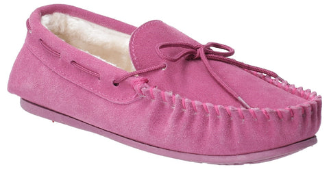 PINK ALLIE SLIP ON SLIPPER