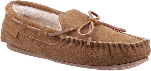 TAN ALLIE SLIP ON SLIPPER