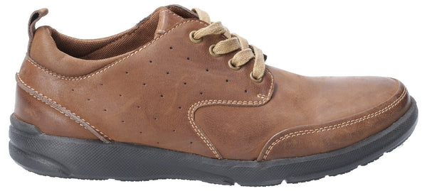 BROWN APOLLO LACE UP SHOE