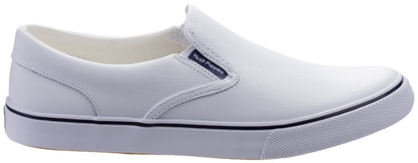 WHITE BYANCA SLIP ON SHOE