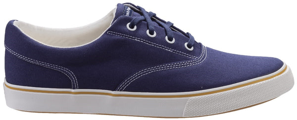 NAVY CHANDLER LACE UP TRAINER