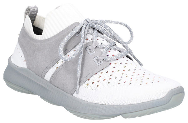 IVORY WORLD BOUNCEMAX LACE UP TRAINER