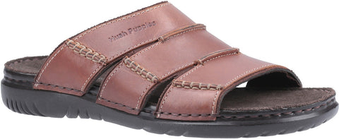 BROWN CAMERON MULE SANDAL