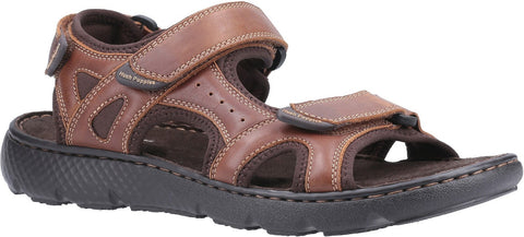 BROWN CARTER STRAP SANDAL