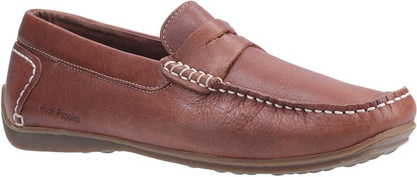 BROWN ROSCOE SLIP ON SHOE