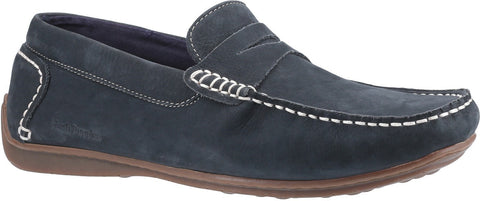 NAVY ROSCOE SLIP ON SHOE