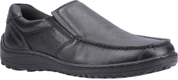 BLACK THOMAS SLIP ON LOAFER