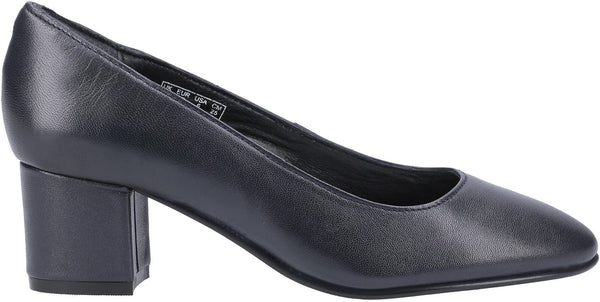 NAVY ANNA SLIP ON COURT SHOE