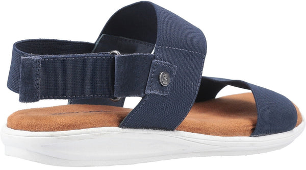 NAVY ASHLEY TOUCH FASTENING STRAP SANDAL
