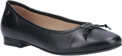 BLACK NAOMI SLIP ON BALLET PUMP