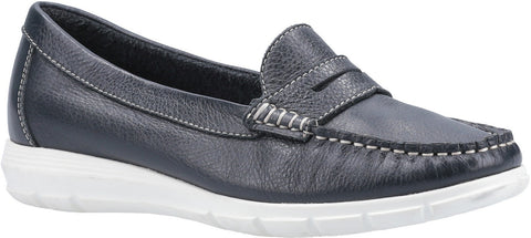 NAVY PAIGE SLIP ON LOAFER