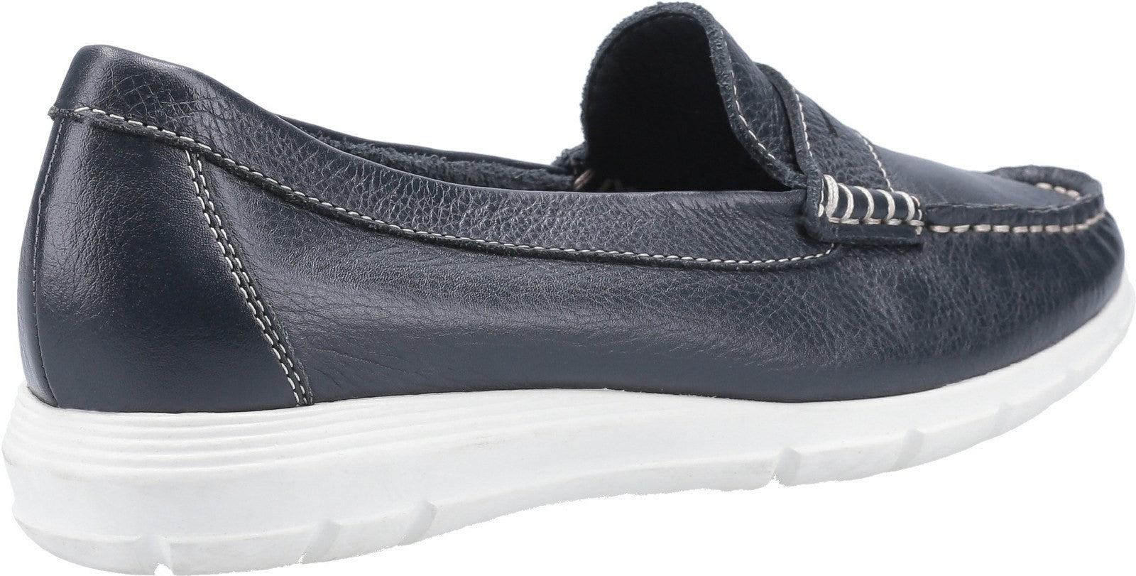 Navy Paige Slip On Shoes
