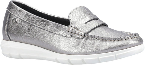 SILVER PAIGE SLIP ON LOAFER