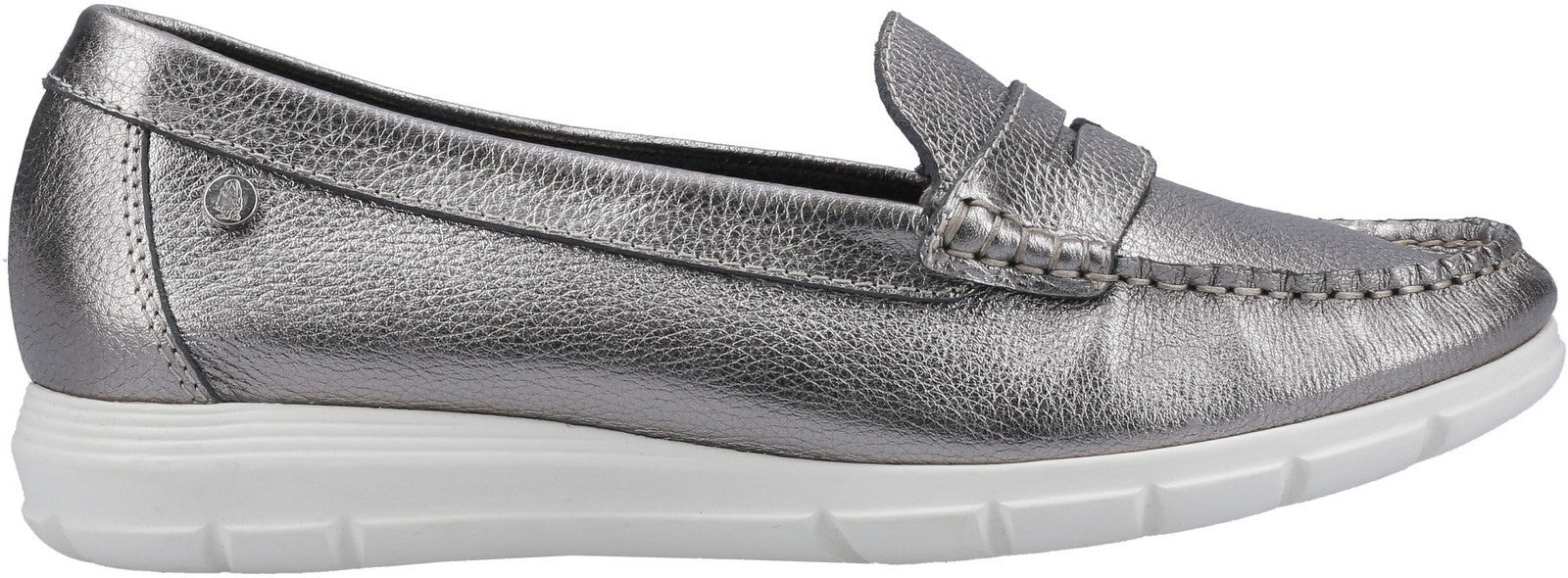 Silver Paige Slip On Shoes