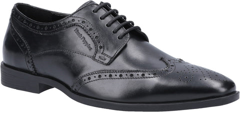 BLACK ELLIOT BROGUE LACE UP SHOE