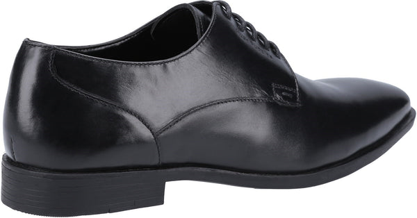 BLACK EZRA PLAIN TOE SHOE