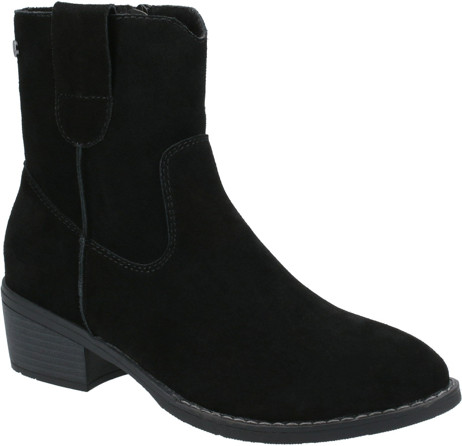 Black Iva Ankle Boots