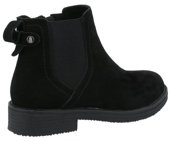 BLACK MADDY LADIES ANKLE BOOTS