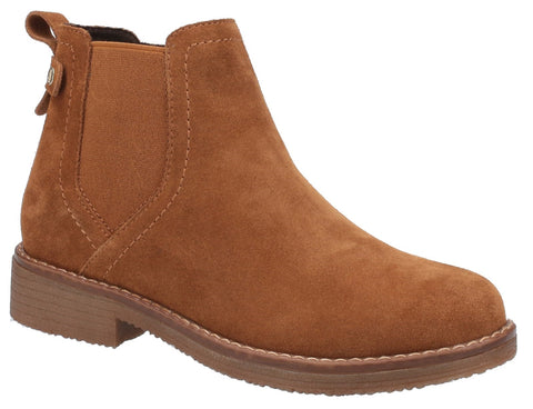 BROWN MADDY LADIES ANKLE BOOTS