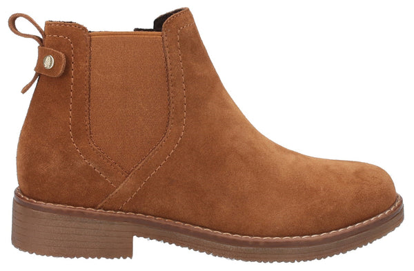 TAN MADDY LADIES ANKLE BOOTS