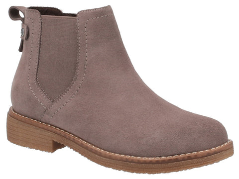 GREY MADDY LADIES ANKLE BOOTS